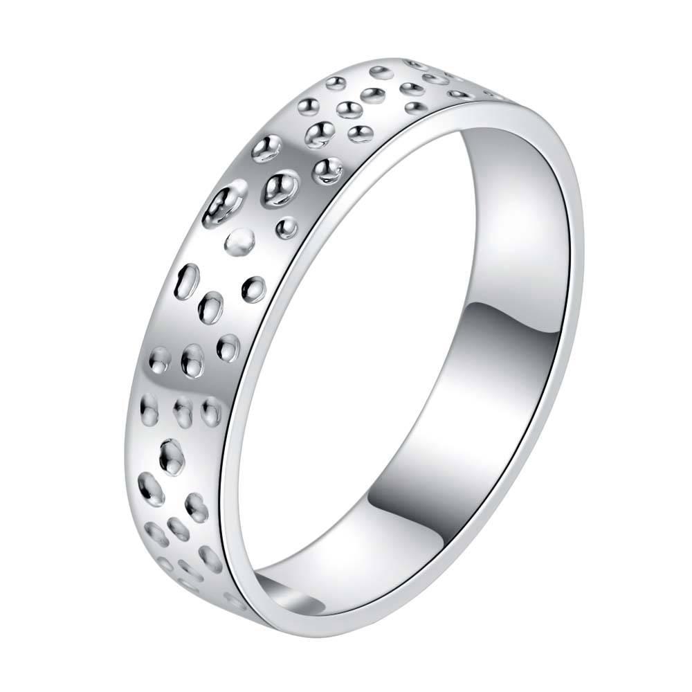 shiny beautiful delicate Silver plated font b Ring b font Fashion Jewerly font b Ring b