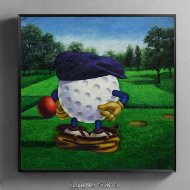 Hoge Kwaliteit Golf Art Schilderijen-Koop Goedkope Golf Art ...