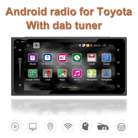 With Dab Tuner Android Quad Core 2 Din Car Radio Gps Navigation Wifi Bluetooth Radio For