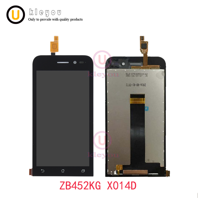 For 4.5 ASUS ZenFone Go ZB452KG LCD screen Display +Touch Screen panel ZB452KG X014D Digitizer Glass Assembly replacement