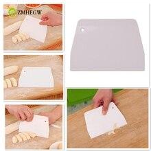 Горячая крем гладкая лопатка для приготовления торта выпечки Кондитерские инструменты скребок для теста кухонный нож для теста резак высокого качества