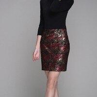 2019 Новый Печать Цветок Офисные женские туфли натуральная овечья кожа Юбки Для женщин Высокое качество, Большие размеры 4XL из натуральной ко