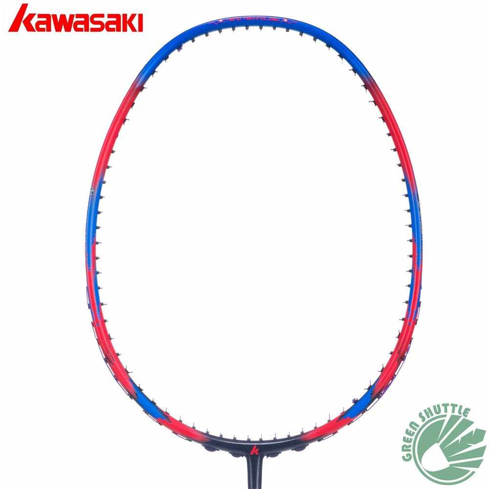 2019 Kawasaki Women Superlight Badminton Racquet Aerofoil Frame Porcelain 520F Badminton Racket  With Gift