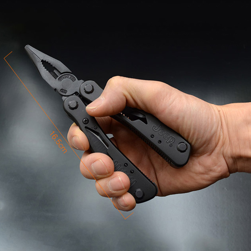 Security & Protection ... Self Defense Supplies ... 32765106591 ... 4 ... High Quality Outdoor Survival Multifunction Plier Stainless Tungsten Alloy Pocket Multi tools Knife Camping Kit ...
