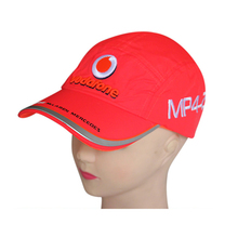 quick-drying thin classic 2010′ champion baseball cap Formula one car team baseball caps brand outdoor sport sunscreen hat