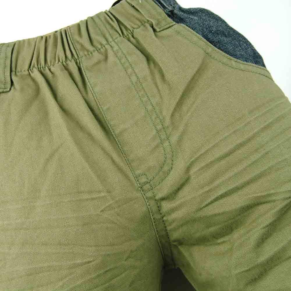 Kualitas tinggi 3-7Y Anak Army Hijau Celana garis bordir Kasual Boy - Pakaian anak anak - Foto 2