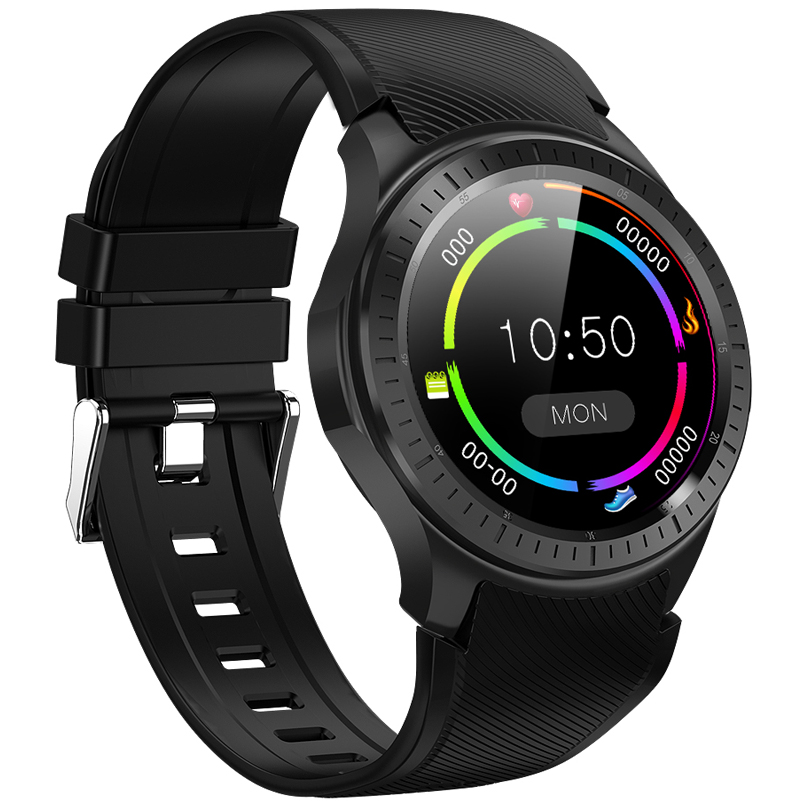 Nicemeet DM368 Plus Smart Watch, 4G Card 1+16G Memory Waterproof GPS Positioning WiFi Android Adult Sports Phone Watch