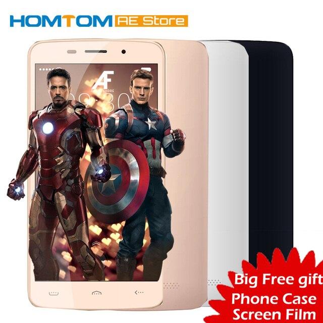 """Оригинальный Doogee HOMTOM HT17 Pro смартфон 4 г Android 6.0 Quad Core MTK6737 5.5 """"экран Две камеры смарт Услуга жест мобильного телефона"""