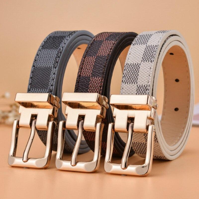 High Quality Child Ceinture Fashion Leisure Designer Children's   belt   Boys Girls Off White Ceinture Femme De Marque Luxe   belts   Y9