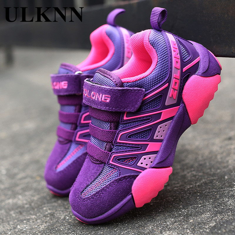 ULKNN Kids Shoes Boys Sneakers Autumn New Boys Girls Child Boy Child Student Sports shoes Child Running shoes