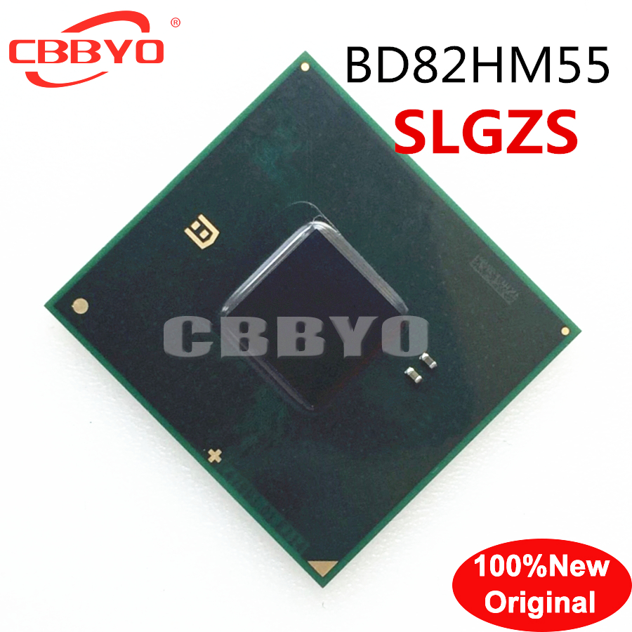 100% Original New good quality <font><b>BD82HM55</b></font> SLGZS BGA CHIP image