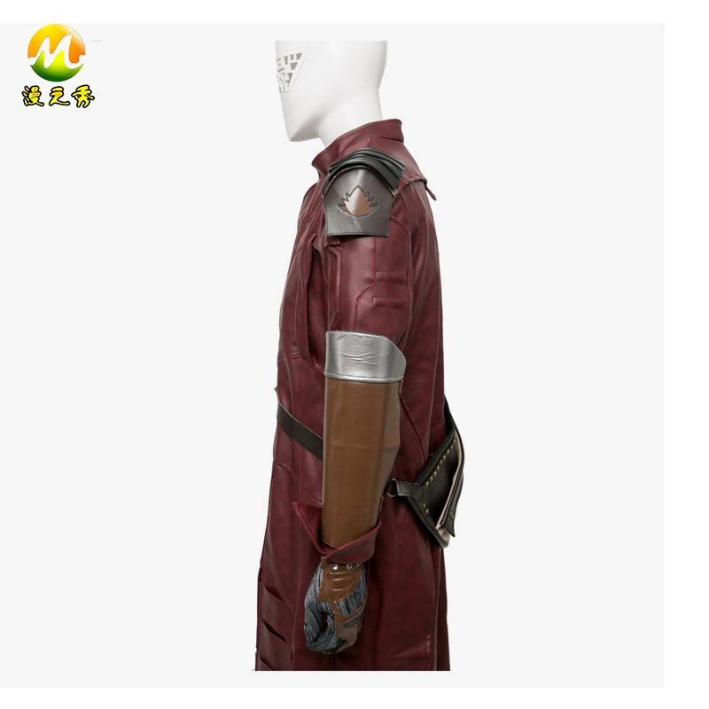 New Guardians of the Galaxy Peter Quill Star-Lord Cosplay Costume For Adult Men Halloween Party Costumes Full Outfill
