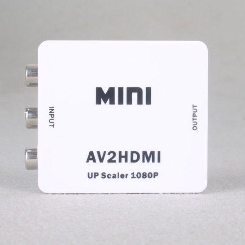 BIG EastVita HDMI2RCACVS 3 RCA Composite Video AV Mini HDMI Converter