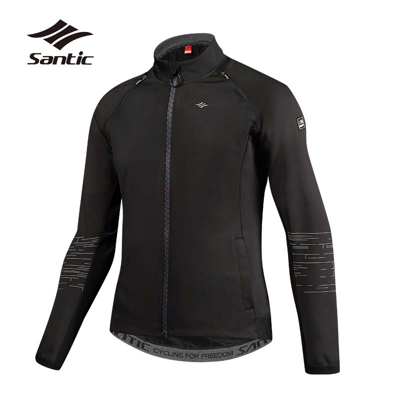 SANTIC Spring Autumn Cycling Jacket Men Removable Sleeves Windproof Warm Road Mountain Bike Jacket MTB Downhill Bicycle Jacket santic men s cycling hooded jerseys rainproof waterproof bicycle bike rain coat raincoat with removable hat for outdoor riding