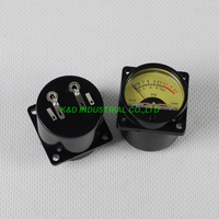 1pc VU Panel Meter Warm Back Light Audio Amp 35x35mm For 300B 845