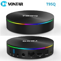T95Q 4GB 64GB Android 9.0 TV BOX 4K Media Player LPDDR3 Amlogic S905X2 Quad Core 2.4G&5GHz Dual Wifi BT4.1 100M H.265 Smart Box