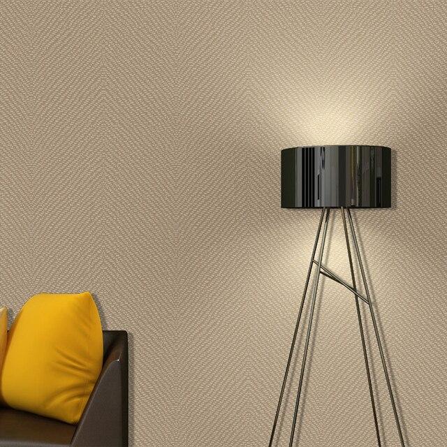 Moderne Mode Minimalistischen Flachs Tapete Klar Dunklen Grau Leinen ...