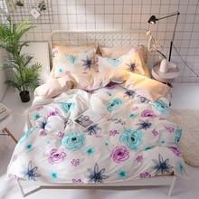58 Flower Bedding Set Twin Full Queen King Size 3pcs Floral Pattern Duvet Cover pillowcase set Bohemian Bedclothes Bed set