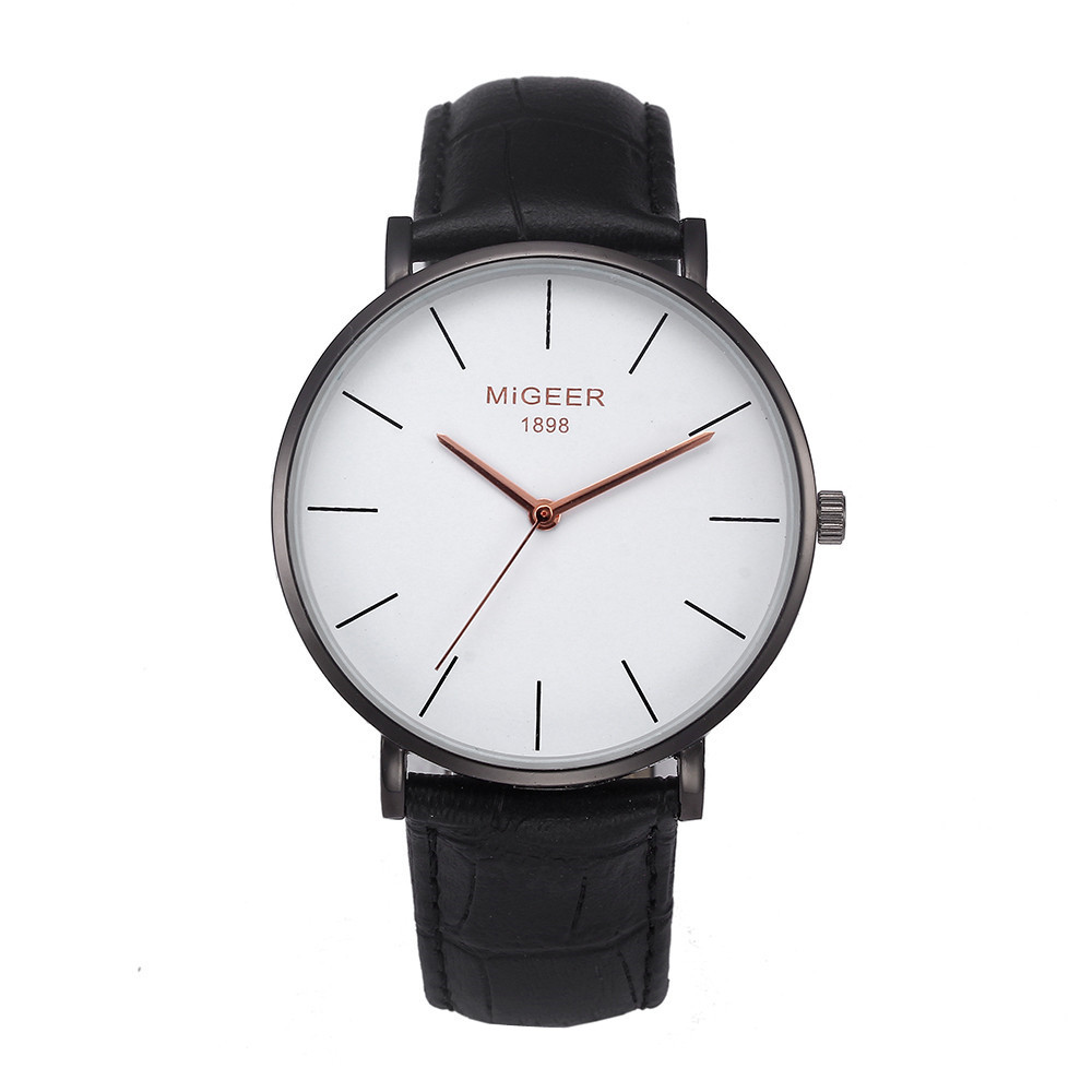 Man Watch Stylish And Simple Temperament Fashion Luxury Chic Belt relogio masculino Mens Watches Top Brand Luxury montre homme