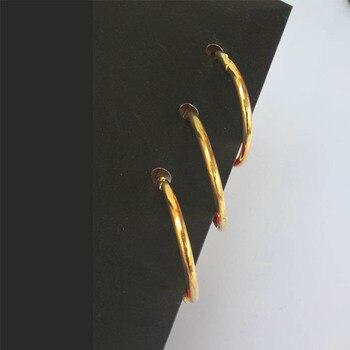 10 sztuk Złota Luźnych Kartkach Wiązania Segregatorów Metal Żelaza Otwarcie Książki Metalowy Pierścień Pierścień Książki DIY Notebooka Wiązania biuro i Szkoła Dostaw