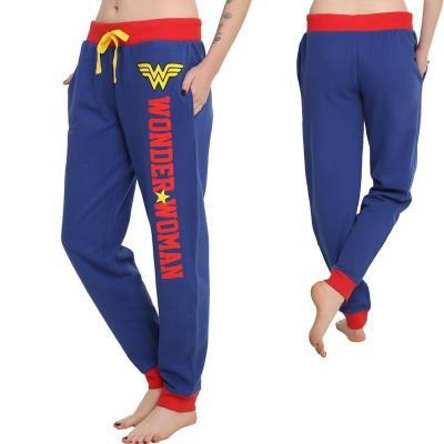Wonder Woman Princess Dian Joggers Pant Women Trousers Sport Gym Pants Wonder Woman Cosplay Costumes Pants S-5XL