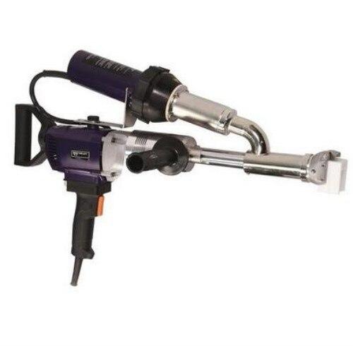 WELDY 3400W Handheld Plastic Extrusion Welding Machine kit Hot Air Plastic Welder Gun Vinyl Weld Extruder Welder Machine EX3