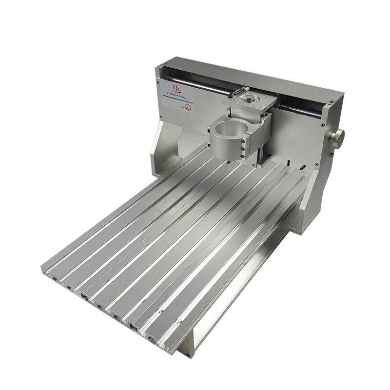 Mini CNC métal machine de découpe cadre 3040 bois routeur avec fin de course et vis à billes adapté bricolage PCB fraisage - 4