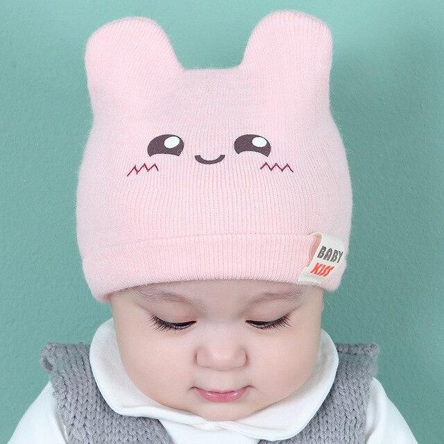 2017 nuevos sombreros del bebé otoño y el invierno de punto coreano ...