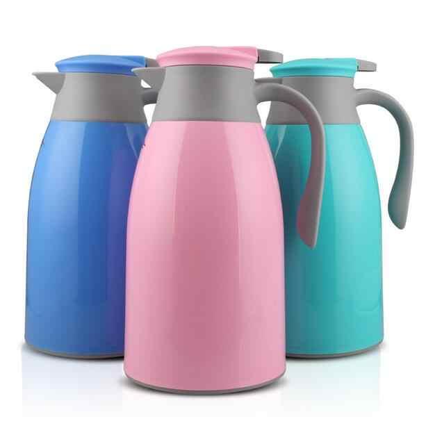 Hot Huishoudelijke Vacuüm Isolatie Pot Mode Glas Liner Warmwaterkruik Theepot Koffiepot Vacuüm Isolatie Gratis Verzending