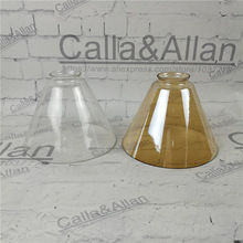 Buy glass lampshade and get free shipping on aliexpress amber clear glass lampshade diy lighting lamp shadechina mozeypictures Image collections