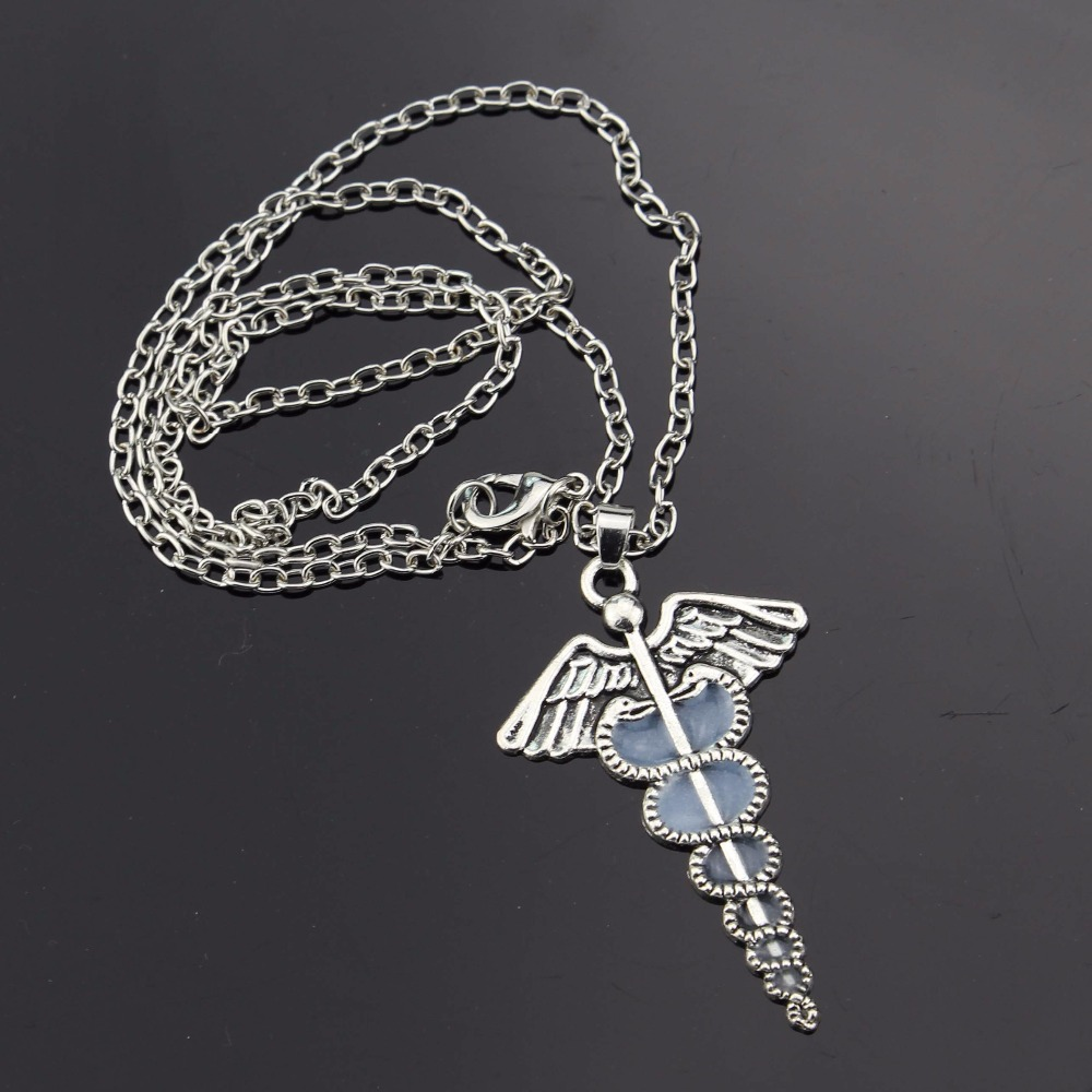 Angel wings Luminous Necklace Pendant For Women Sweather Chain gift Jewelry