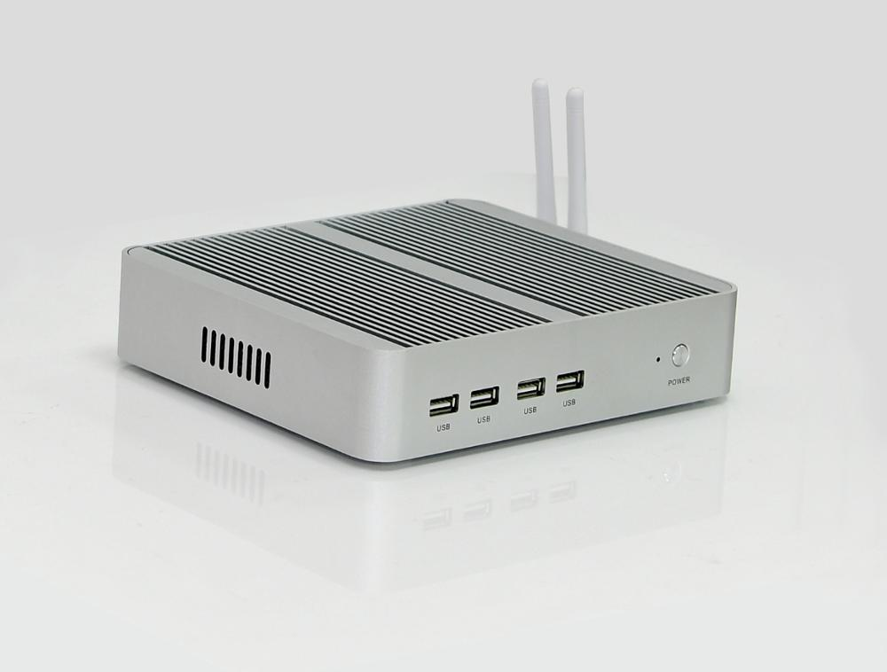 Image 2 - Newest Kaby Lake 8Gen Fanless pc i5 8250u/i7 8550u Intel UHD 620 win10 4 Core 8 Threads DDR4 2400 NUC Freeshipping-in Mini PC from Computer & Office