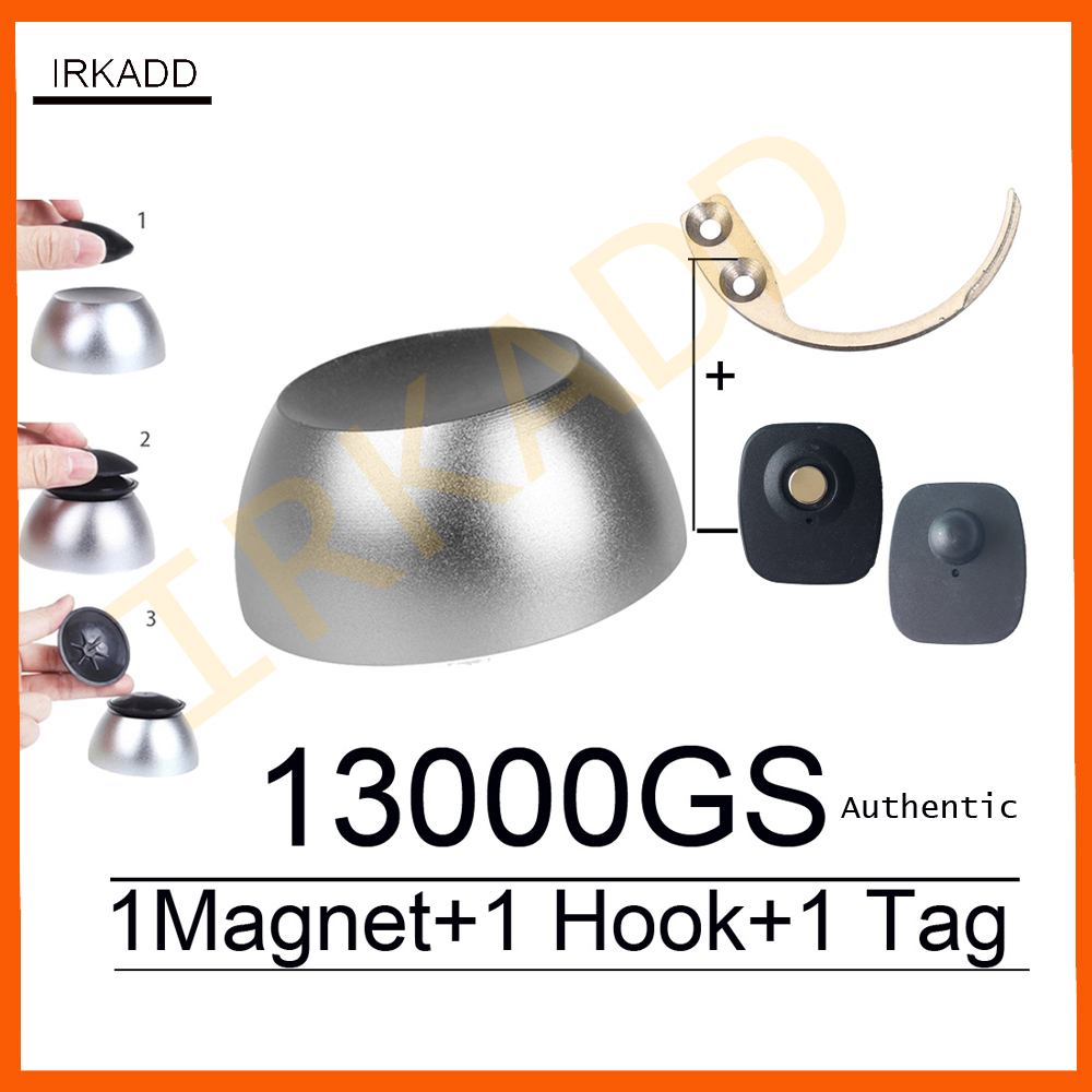 13000GS universal magnetic golf detacher magnet security tag remover for eas system mini hook detacher pocket handheld detacher 2017 magnetic golf detacher golf security tag detacher eas hard tag remover 13000gs silver color 1pcs free shipping