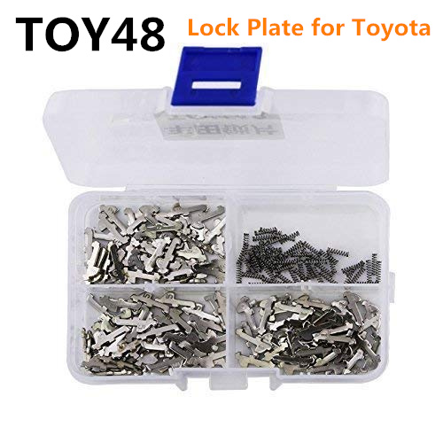 150pcs TOY48 Car Lock Reed Auto Lock Repair kits Car Lock Plate for Toyota Crown New Lexus Brass Locking Plate hu92 car lock repair kit accessories car lock lock plate for bmw locksmith tools for car supply free shipping