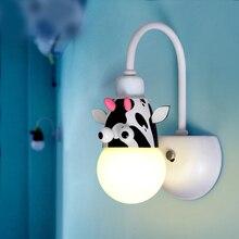 Modern led wall light decorative bedroom fixtures new lights for home children room living room kids baby lighting wall lamp modern wall lamp led wall lights bedroom dear wall sconce kids children baby room lamp light fixtures home lighting