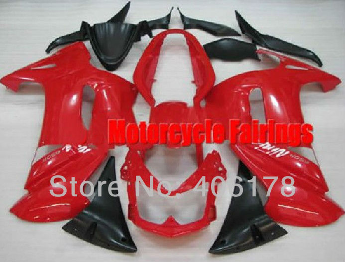 Hot Sales,Cheap Fairings kit For Kawasaki ER-6F 2006-2008 2006 2007 2008 06 07 08 Red Ninja 650 Motorcycle Fairings aftermarket free shipping motorcycle parts eliminator tidy tail for 2006 2007 2008 fz6 fazer 2007 2008b lack