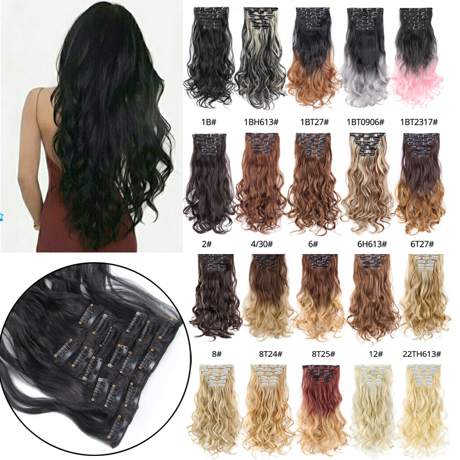 Synthetic Extensions Official Website Mapofbeauty 24 Long Kinky Curly 5 Clip In Synthetic Hair Extension Blonde Heat Resistant Fiber For Women Clips On Hairpieces