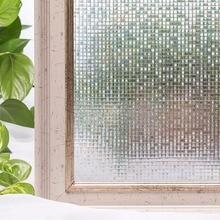 CottonColors Window Privacy Films ,No-Glue 3D Static Decorative Film, Window Glass Stickers Size 60 x 200cm