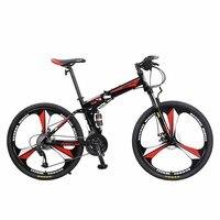 LH2 горный велосипед складной 27 скорость изменения 26 дюймов Взрослый мужской амортизация мягкий хвост