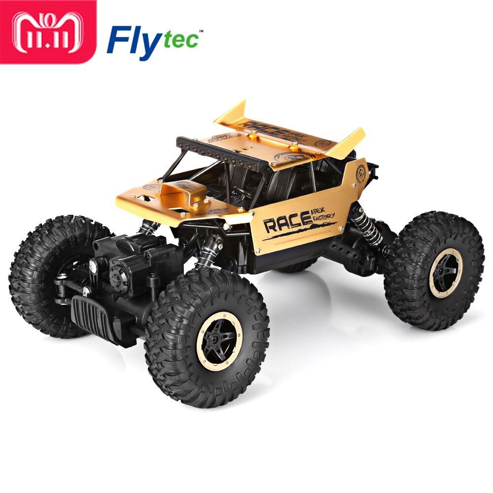 Flytec RC Auto 9118 1:18 In Lega di 2.4g 4WD Ad Alta Velocità Arrampicata Auto Da Corsa del Veicolo di Controllo Remoto RC Buggy regali per Gli Amici