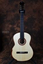 hand-made full solid wood performance classic guitar