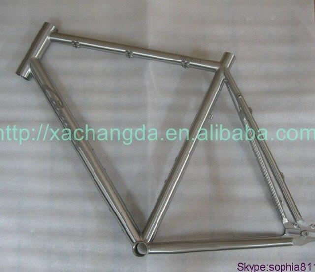 Ti titanium cyc cuadros de las bicicletas con punteras deslizantes ...