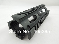 AR Handguard Carbine Length Quad Rail System LENGTH: 6.7 M4 Tactical Airsoft Hand Guard Rail Mount For AR AK AEG