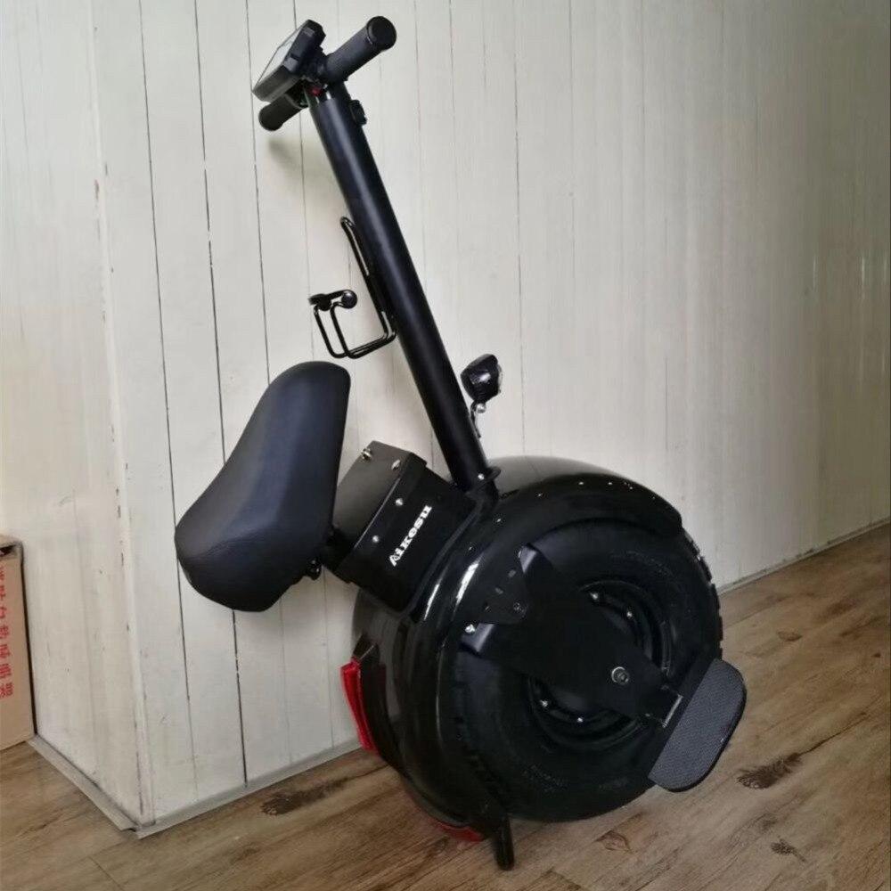 Véhicule électrique somatosensory intelligent de scooter électrique adulte avec une roue 60 V 1000 W