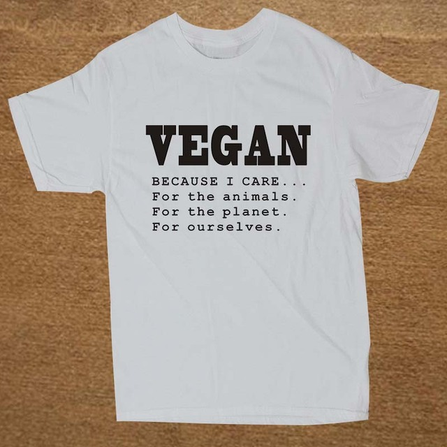 Because I Care for the Animals Planet Ourselves T Shirt13