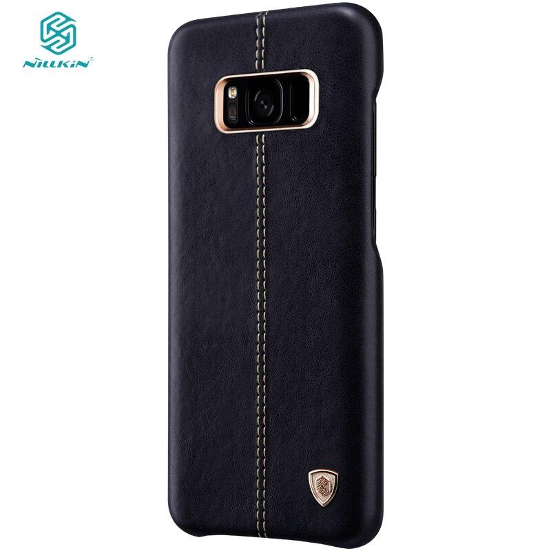 """imágenes para Para Samsung Galaxy case Samsung S8 S8 Más caso de la cubierta de nillkin de cuero protección capas galaxy S8 6.2"""""""