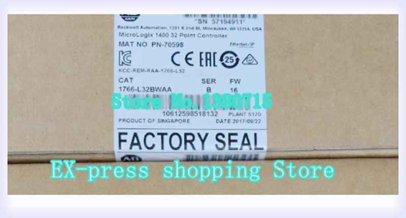 1766 L32BWAA PLC 120/240V AC controlador MicroLogix 1400 on AliExpress - 11.11_Double 11_Singles' Day 1
