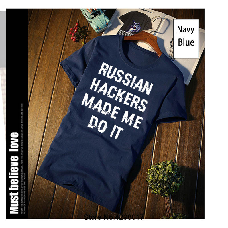 Melhor Hackers Russos Camiseta impressão Carta Plus Size 3xl Camisa de T  Para Homens Famosos Hilariante Artigo Camisas Camisa 2018 Top Pop tee  Barato Online ... 081591c7b486a