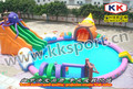 Высокое качество конкурентоспособная цена надувной аквапарк для детской игровой площадки