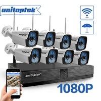 8CH H.265 CCTV System Drahtlose 1080P NVR KIT 8PCS 2MP IR Outdoor P2P WIFI IP CCTV Sicherheit Kamera system Video Überwachung Kit-in Überwachungssystem aus Sicherheit und Schutz bei